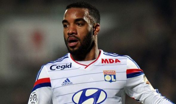 Alexandre Lacazette: Lyon reject Arsenal's 35m euros offer for France forward